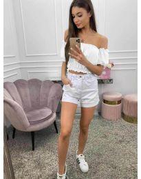 Блуза - код 1162 - бела