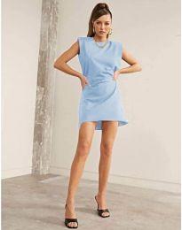 Фустан - код 625 - светло сина