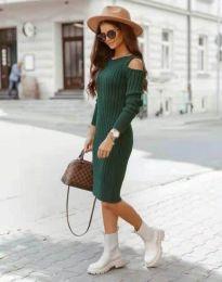 Фустан - код 8203 - зелена