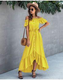 Фустан - код 564 - жолта