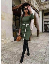 Фустан - код 5190 - путер зелена