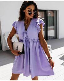 Фустан - код 2093 - виолетова