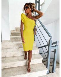 Фустан - код 710 - жолта