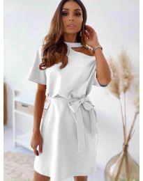 Фустан - код 0006 - бело