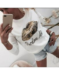 Блуза - код 975 - бело