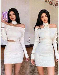 Фустан - код 3982 - бело