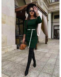 Фустан - код 5190 - зелена