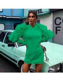 Фустан - код 6383 - зелена
