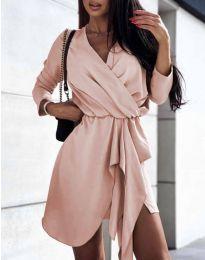 Фустан - код 2879 - розова
