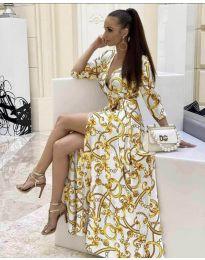 Фустан - код 4489 - 2 - бело