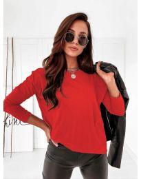 Блуза - код 5582 - црвена