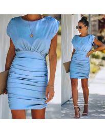 Фустан - код 1158 - светло сина