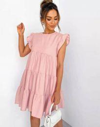 Фустан - код 2666 - розова