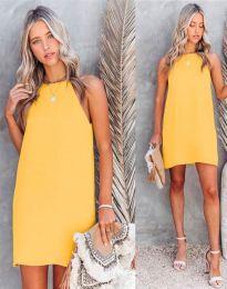 Фустан - код 2169 - жолта