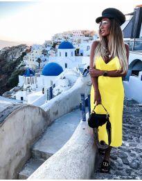 Фустан - код 0005 - жолта