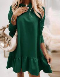 Фустан - код 9376 - зелена