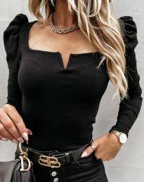 Блуза - код 12115 - црна