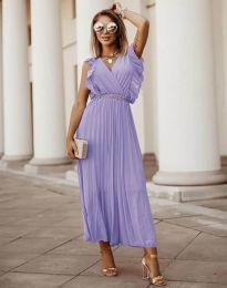 Фустан - код 3320 - виолетова