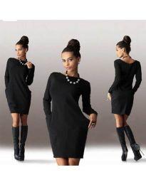Фустан - код 341 - црна