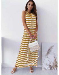 Фустан - код 1515 - жолта