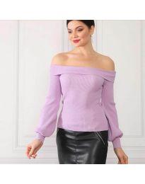 Блуза - код 0247 - виолетова