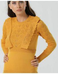 Блуза - код 2214 - окер