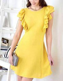 Фустан - код 7111 - жолта