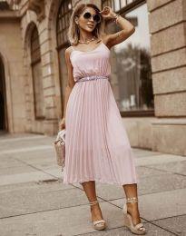 Фустан - код 1249 - розова