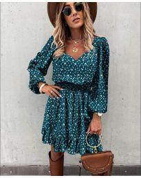 Фустан - код 0366 - тиркизна