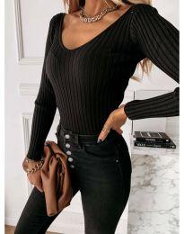 Блуза - код 4121 - црна