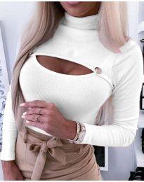 Блуза - код 3501 - 1 - бело