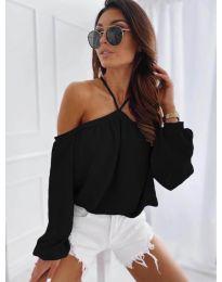 Дамска блуза в черно - код 6561