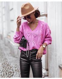 Блуза - код 137 - розова