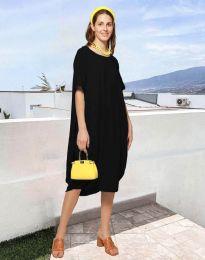 Фустан - код 5554 - црна
