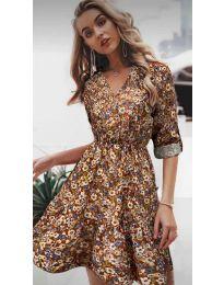 Фустан - код 979 - 4 - шарено