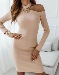 Фустан - код 4859 - кремова