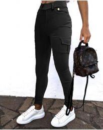 Панталони - код 2528 - 2 - црна