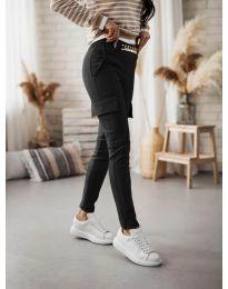 Панталони - код 5130 - црна