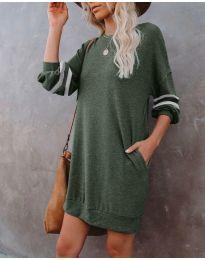Фустан - код 5925 - путер зелена