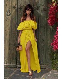 Фустан - код 3336 - жолта