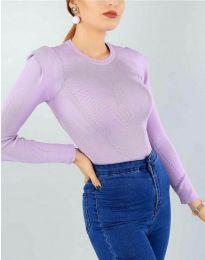 Блуза - код 374 - светло виолетова