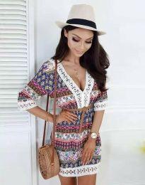 Фустан - код 8306 - шарена