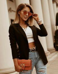 Дамско сако в черно - код 2365