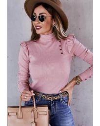 Блуза - код 6566 - розова