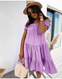 Фустан - код 805 - виолетова