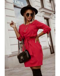 Фустан - код 6100 - црвена