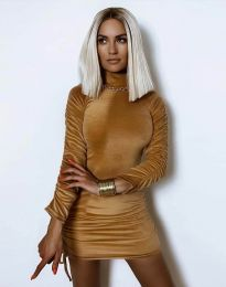 Фустан - код 4920 - капучино