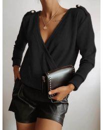Блуза - код 294 - црна