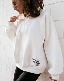 Блуза - код 4229 - бело