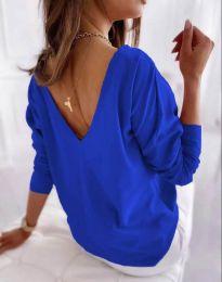 Блуза - код 5173 - 1 - небесно сина